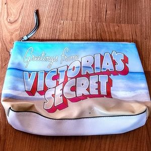Victoria's Secret postcard clutch